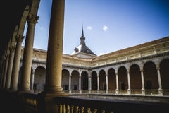 Alcazar, fortress, Tourism, Toledo, most famous city in spain Stock Image