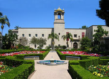 Alcazar Gardens Stock Photography