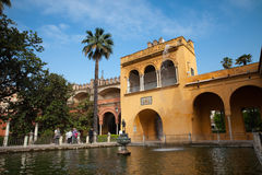 Alcazar Gardens Royalty Free Stock Photos