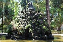 Alcazar Gardens in Seville Spain stock image