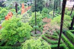 Alcazar Gardens Stock Images