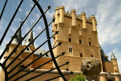 Alcazar i Segovia Fotografering för Bildbyråer