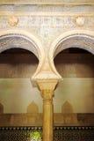 Alcazar königlich in Sevilla, Andalusien, Spanien Lizenzfreies Stockbild