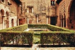 alcazar pałac Seville Fotografia Royalty Free