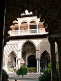 Alcazar pałac w Seville Hiszpania zdjęcie royalty free