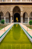 Alcazar palace in Sevilla Royalty Free Stock Photo