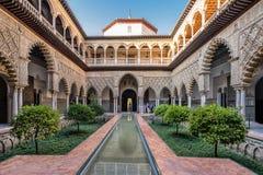 Alcazar réel en Séville Photographie stock