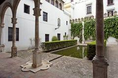 Alcazar real en Sevilla, Andalucía fotos de archivo
