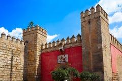 Alcazar real Sevilla Andalusia de Sevilha imagens de stock
