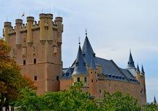 Alcazar reale della Spagna Segovia Immagini Stock Libere da Diritti
