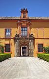 Alcazar Royal in Seville, Andalusia, Spain Stock Images