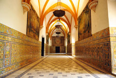 Alcazar Royal in Seville, Andalusia, Spain Royalty Free Stock Image