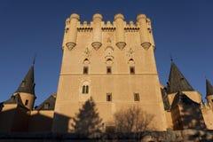 Alcazar in Segovia Royalty Free Stock Photo