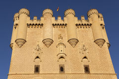 Alcazar in Segovia Royalty Free Stock Photo