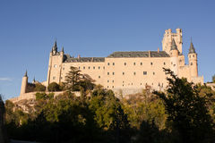 Alcazar of Segovia Stock Images