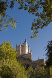 Alcazar of Segovia Stock Photography