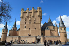 The Alcazar of Segovia Royalty Free Stock Images