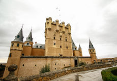 Alcazar, Segovia Stockbild