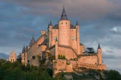 Alcazar of Segovia royalty free stock photos