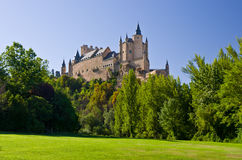 Alcazar of Segovia Royalty Free Stock Image