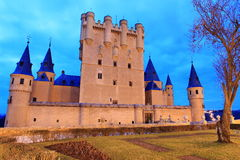 Alcazar of Segovia Royalty Free Stock Photo