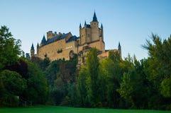 Alcazar Segovia Stockbilder