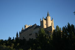 Alcazar Segovia Stock Photo