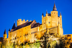 Alcazar of Segovia, Castile, Spain Royalty Free Stock Photo