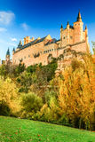 Alcazar of Segovia, Castile, Spain Royalty Free Stock Images