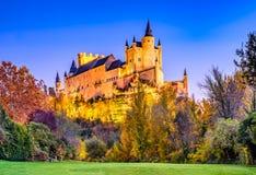 Alcazar of Segovia, Castile, Spain Royalty Free Stock Image