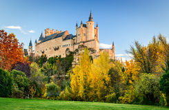 Alcazar of Segovia, Castile, Spain Stock Photo