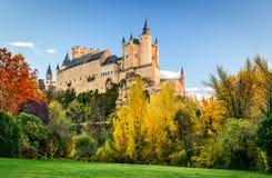 Alcazar of Segovia, Castile, Spain Stock Photo