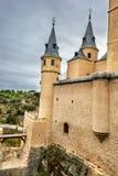 Alcazar of Segovia, Castile, Spain Stock Photos