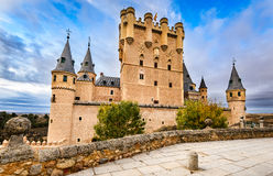 Alcazar of Segovia, Castile, Spain Royalty Free Stock Images