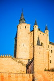 Alcazar of Segovia, Castile, Spain Stock Image