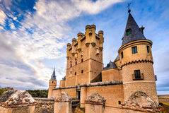 Alcazar of Segovia, Castile, Spain Royalty Free Stock Photos