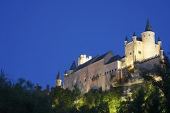Alcazar of Segovia Royalty Free Stock Photos