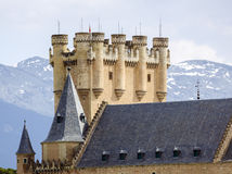 Alcazar of Segovia Stock Photos