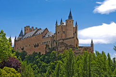 Alcazar of Segovia Stock Image