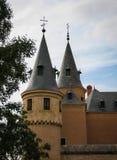 Alcazar, Segovia, Spagna Fotografie Stock Libere da Diritti