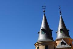 Alcazar of Segovia in Spain. Alcazar fortress, Segovia, Castile and Leon, Spain Royalty Free Stock Photo