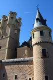 Alcazar of Segovia in Spain Royalty Free Stock Photo