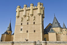 Alcazar in Segovia - Spain. Segovia's main landmark, the Alcazar Royalty Free Stock Photography