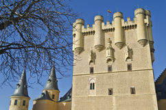 Alcazar in Segovia - Spain. Segovia's main landmark, the Alcazar Stock Image