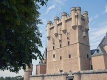 Alcazar of segovia, Spain Royalty Free Stock Image