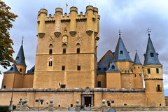 Alcazar of Segovia (Spain) Royalty Free Stock Photography