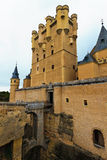 Alcazar of Segovia (Spain) Stock Image