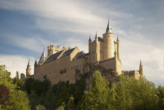 The Alcazar of Segovia (Spain) Stock Photos
