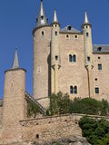 Alcazar, Segovia ( Spain ) Royalty Free Stock Photos