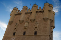 Alcazar of Segovia (Spain) Stock Photo